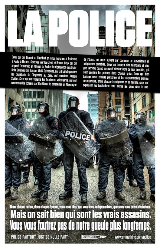 Tout le monde déteste la police